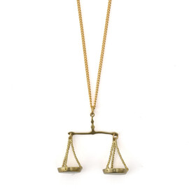 roomsSHOP - libra necklace