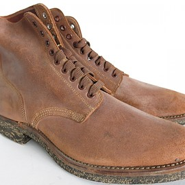 VINTAGE - 1940's US NAVY ROUGH OUT BOOTS