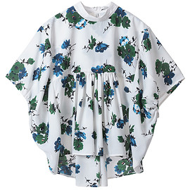 CLANE - CLANE|クラネ|CLASSIC FLOWER BALLOON TOPS 詳細画像 1
