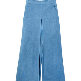 MYLAN - High waist Denim Wide pants