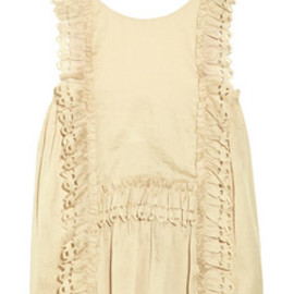 3.1 Phillip Lim - ruffled laser-cut top