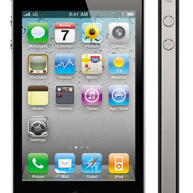 Apple - iPhone 4 (Black)