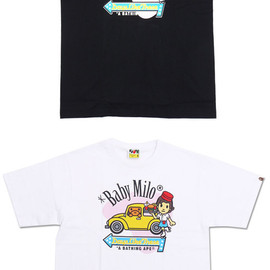 A BATHING APE - MILO DRIVE IN TEE