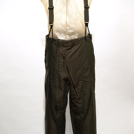 "SIVA - BOT-CLT / ""D-1A"" FLIGHT SUSPENDER TROUSERS"