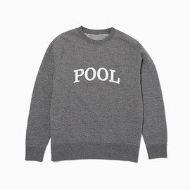 THE POOL AOYAMA - ARCH POOL SWEAT PULL OVER