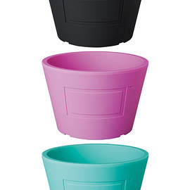 MEDICOM TOY - BOTANIZE POT BLACK/PINK/EMERALD GREEN