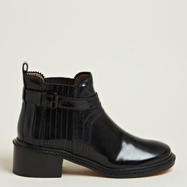 GIVENCHY - Givenchy Women's Spazz Leather Ankle Boots