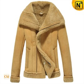 CWMALLS - CWMALLS® Kansas Lamb Fur Leather Jacket CW640106