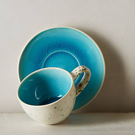 anthropologie - Scattered Seas Cup & Saucer