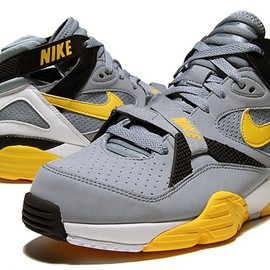 Nike - AIR TRAINER MAX 91 gry stone/m.yel-blk-wht