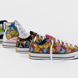 CONVERSE - THE SIMPSONS × CONVERSE CHUCK TAYLOR ALL STAR FALL/WINTER 2014 COLLECTION