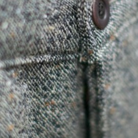 Left Field - Image of Japanese Tweed Tailored Chinos