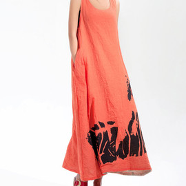 dress - Changing seasons/ Romantic Summer Maxi dress