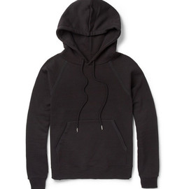 Saint Laurent - Loopback-Cotton Hoodie