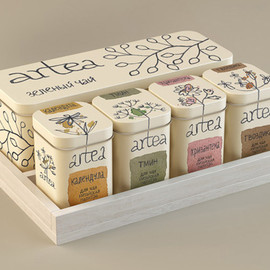 Masha Ponomareva - Tea package