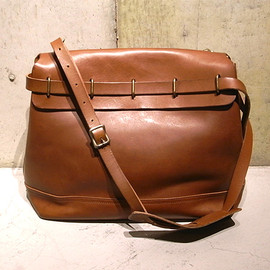 OLD JOE & Co. - Leather Shoulder Bag (Brown)