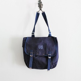 LILY1ST VINTAGE - 1970-80's U.S Military Trainer Canvas Bag