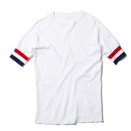 uniform experiment - ORGANIC ULTIMATE COTTON WAFFLE S/S CREW NECK CUT AND SEWN
