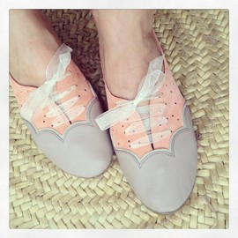 elehandmade - scalloped oxfords