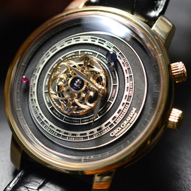 Graham Tourbillon Orrery Watch - Graham Tourbillon Orrery Watch With Christophe Claret Movement Hands On   hands on