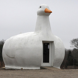 NEW YORK, Long Island - The Big Duck