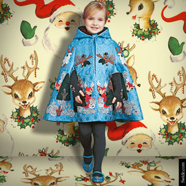 DOLCE&GABBANA - Enchanted Forest Cape