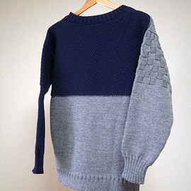 guernsey woollens, softs - cassette tape - double block - sample model