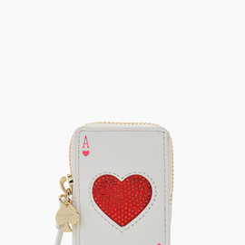 kate spade NEW YORK - place your bets playing cards coin purse