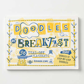 Anthropologie - Doodles At Breakfast Placemats