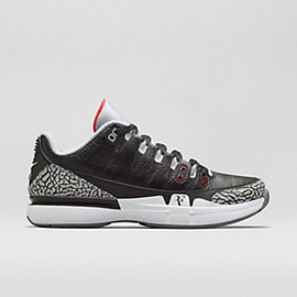 Nike - Court Zoom Vapor Tour AJ3 - Black/Cement