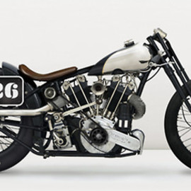 Brough Superior - Imaginary Garage Sacrilege Edition: 1925 Brough Superior Drag Bike