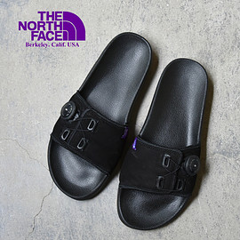 "THE NORTH FACE PURPLE LABEL - Leather Sandal ""Black"""