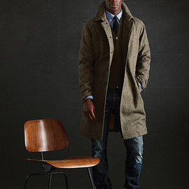 TODD SNYDER - トッドスナイダー2012AW wool coat