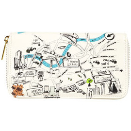 TOPSHOP/TOPMAN - London Map Purse