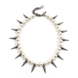 Joomi Lim - Image of Pure Expression Choker w/Small Pearls & Short Spikes