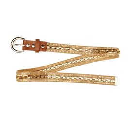 River Island - gold chain jeans belt