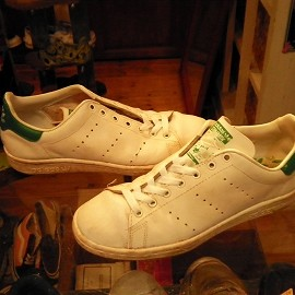 """adidas - 「<used>80's adidas STANSMITH white/green""""made in FRANCE"""" size:GB6(24.5cm) 10000yen」販売中"""