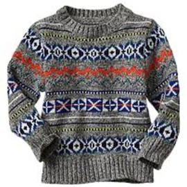 GAP - Multi-colored Fair Isle sweater