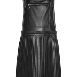 MM6, Maison Margiela - Resort 2016 Pleated faux leather dress