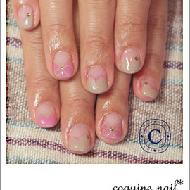 coquine*nail - リボンネイル。