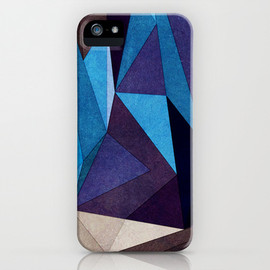 Society6 - Blue Something iPhone & iPod Case