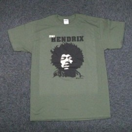 JIMI HENDRIX / CLOSE UP GREEN / T-Shirts Tシャツ ジミ・ヘンドリックス