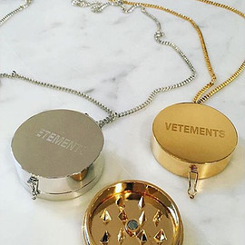 Vetements - Grinder Pendant Necklace