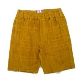 SON OF THE CHEESE - THE PILE SHORTS Yellow