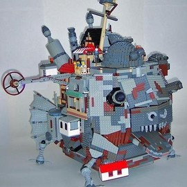 LEGO - Howl's Moving Castle in Lego