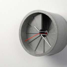 22 Design Studio - 4th dimension wall clock