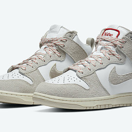 """Dunk High """"Ours,"""" Pearl White"""
