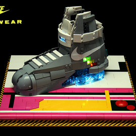 LEGO - Nike MAG LEGO Model by Orion Pax