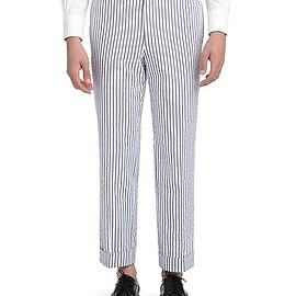 BLACK FLEECE BY Brooks Brothers - SEERSUCKER TROUSERS