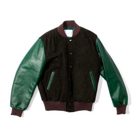 Sacai - Tweed Varsity Jacket